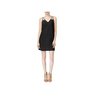 CeCe Womens Slip Dress Double Strap Mini