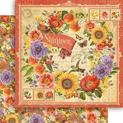 "Summer - Seasons Double-Sided Cardstock 12""X12"""
