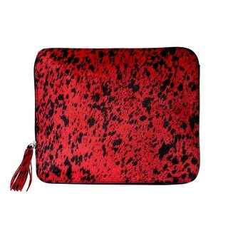 Scully Western Organizer Hair On Calf Leather Zip Tablet Cover