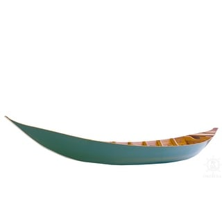 Link to Small South East Asia Sampan Boat Teal Bottom Thuyen Ba La Tam Ban Similar Items in Boats & Kayaks