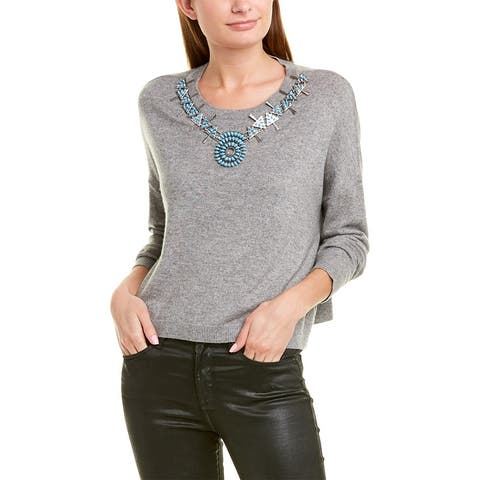 The Kooples Necklace Wool & Cashmere-Blend Sweater