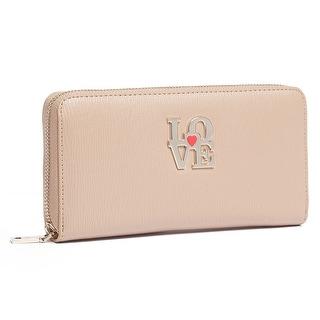 Moschino JC5508 0209 Taupe Zip Around Wallet
