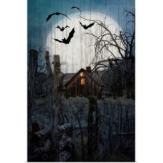 """""""Spook House"""" Poster Print"""