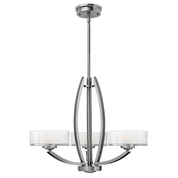Hinkley Lighting 3873 Meridian 3 Light 1 Tier Chandelier