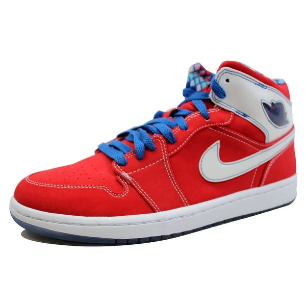 Nike Men's Air Jordan I 1 Retro LS Sport Red/White-Varsity Red 315794-611