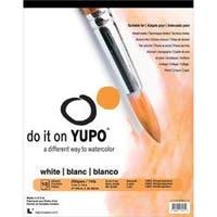 "White 74Lb - Yupo Paper 11""X14"" 10 Sheets/Pkg"