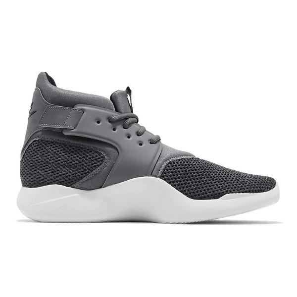 fb58122b5f2 Shop NIKE Men s incursion Mid SE Shoe Dark Grey Black-Vast Grey ...