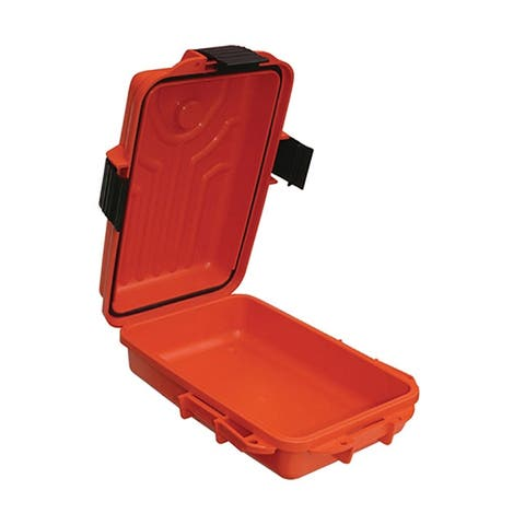 Mtm s107235 mtm survivor dry box - small 10x7x3 inch orange