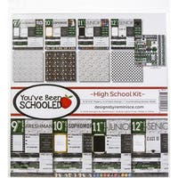 "You've Been Schooled; High School - Reminisce Collection Kit 12""X12"""