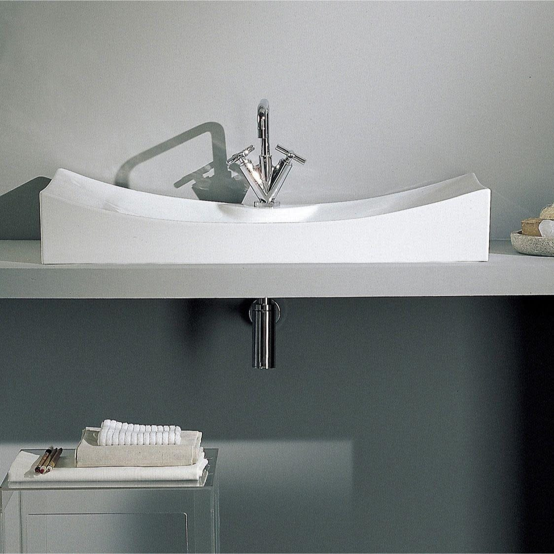 Nameeks 8039 R Scarabeo 27 5 8 Ceramic Vessel Bathroom Sink With 1 White One Hole Overstock 16397124