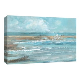 """PTM Images 9-148403  PTM Canvas Collection 8"""" x 10"""" - """"Breaking Waves"""" Giclee Beaches Art Print on Canvas"""
