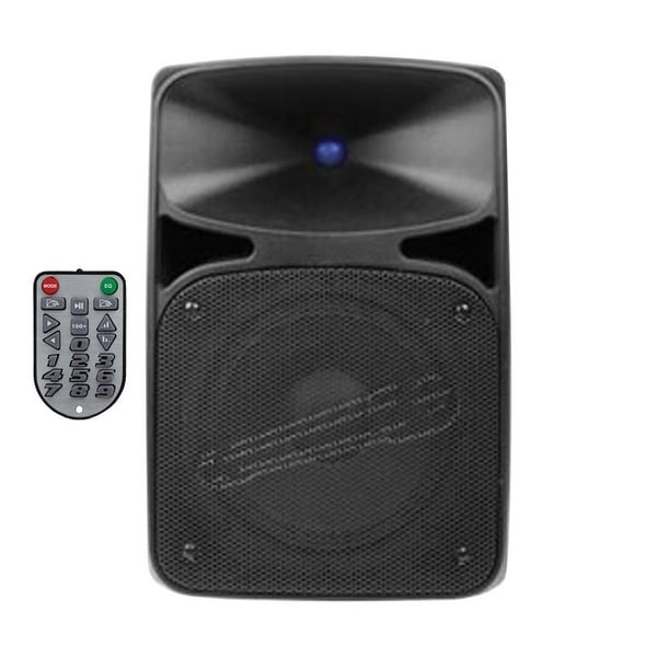 "Audiopipe Wireless Pro Active 8"" Loudspeaker Remote Tuner 3.5mm"