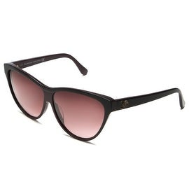 John Galliano Women's Cat Eye Sunglasses Black - Small