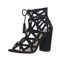 Jessica Simpson Womens Kariba Dress Sandals Suede Caged