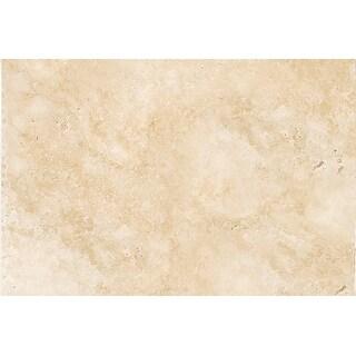 "Emser Tile T06TRAV1624UBC  Trav Chiseled - 16"" x 24"" Rectangle Floor and Wall Tile - Brushed Travertine Visual - Umbria Savera"