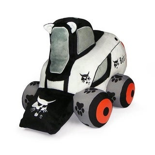 UH Kids UHK1108 Bobcat Skid Wheel Loader Plush Toy