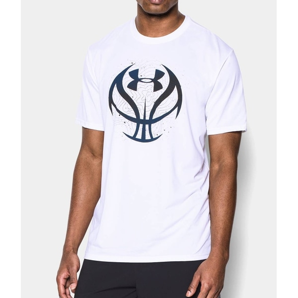 a08d5760 Shop Men's Under Armour Future Icon Basketball Tee T-Shirt White Small  1260249 - Free Shipping On Orders Over $45 - Overstock - 20759815