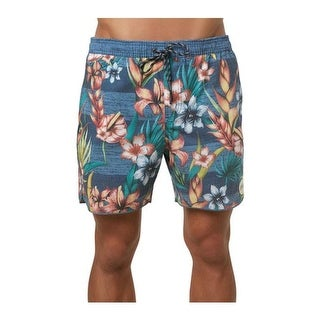 O'Neill Men's Hodge Podge Volley Cruzer Boardshort Dust Blue