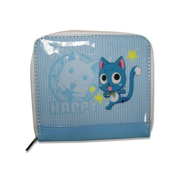 Fairy Tail Happy Blue Coin Purse - Multi