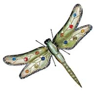 Design Toscano Oversized Dragonfly Metal Wall Sculpture