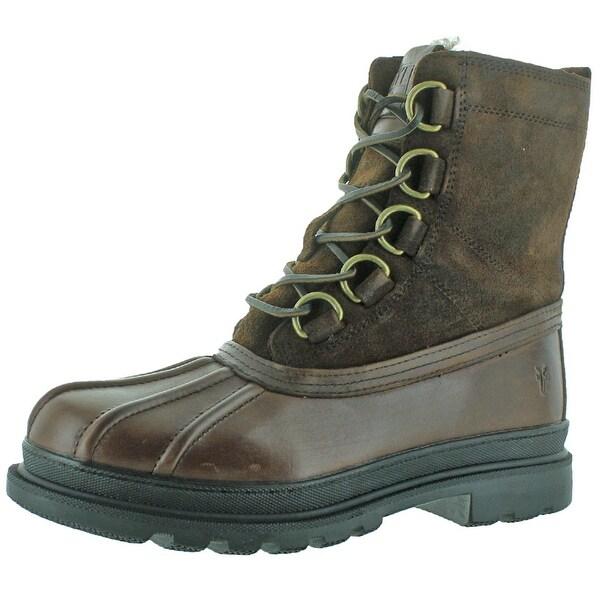 Frye Riley D Ring Men's Waterproof Shearling Boots