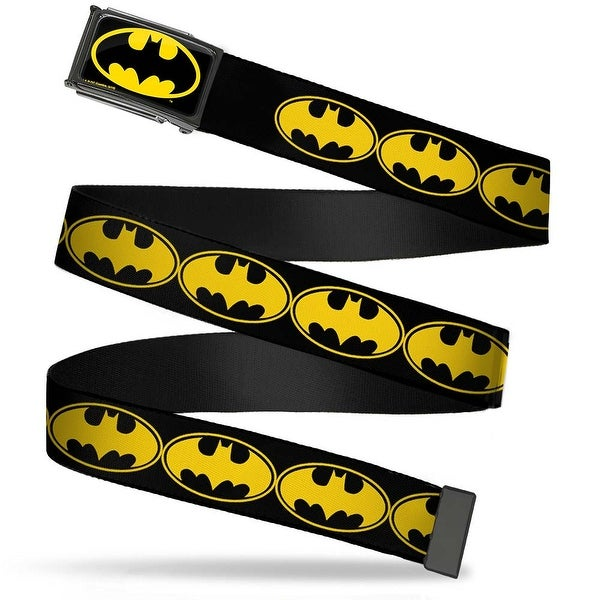 Batman Fcg Black Yellow Black Frame Bat Signal 3 Black Yellow Black Web Belt