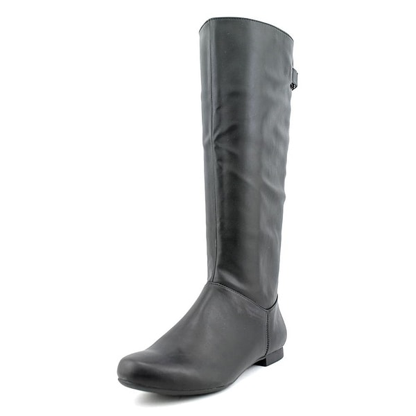 Style & Co. Womens MIGHTY WIDE CALF Almond Toe Knee High Fashion Boots