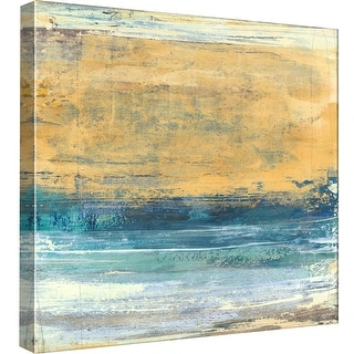 """PTM Images 9-98877  PTM Canvas Collection 12"""" x 12"""" - """"Elemental Wash 2"""" Giclee Abstract Art Print on Canvas"""