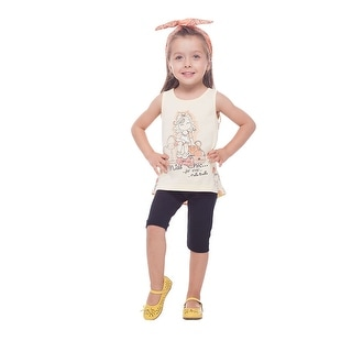 Pulla Bulla Toddler Girls' Graphic Tank Top