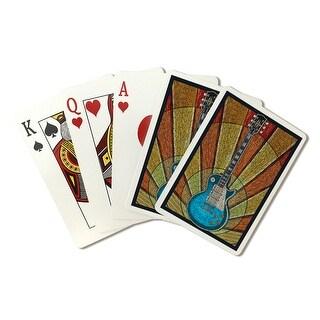 Guitar - Mosaic - LP Artwork (Poker Playing Cards Deck)