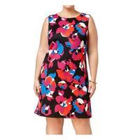 Kasper Women's Plus Floral Print Sheath Dress