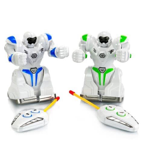 Vivitar Robo Remote Controlled Interactive Combat Robots Set of Two