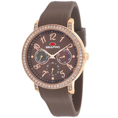 Seapro Women's Swell Brown Dial Watch - SP4414