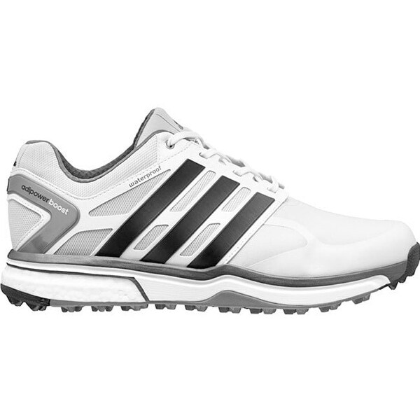 reputable site f65bb fe6e7 Shop Adidas Men s Adipower Sport Boost Clear Grey Black Golf Shoes Q47028 -  Free Shipping Today - Overstock - 18237709