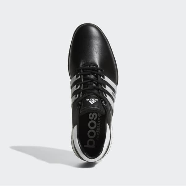 Shop New Men S Adidas Tour 360 Boost 2 0 Golf Shoes Black White Q44945 Med Overstock 28415283