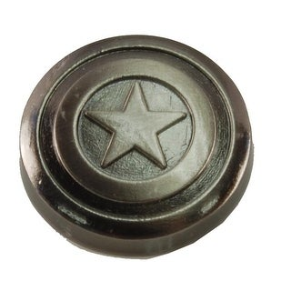 "Captain America Shield .75"" Pewter Lapel Pin"
