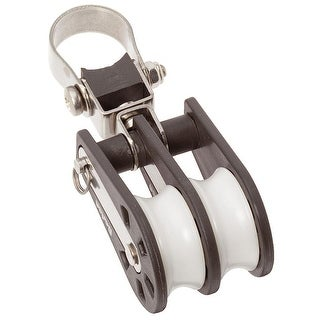 Barton Marine Size 2 Double Stanchion Lead Block - 02 290