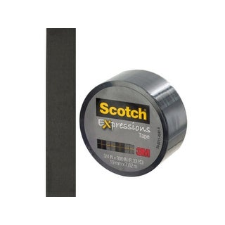Scotch Expressions Black Tape - Pack of 24