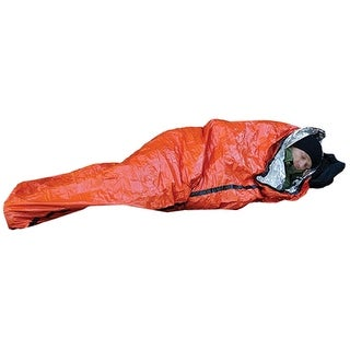 SOL Survive Outdoors Longer Heatsheets Wind and Waterproof Emergency Bivvy - Orange