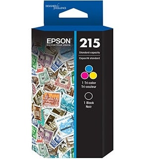Epson DURABrite Ultra T215 Ink Cartridge - Black/Color DURABrite Ultra T215 Ink Cartridge