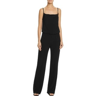 Laundry by Shelli Segal Womens Jumpsuit Spaghetti Strap Blouson