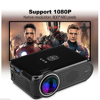 1080P Mini Pico Portable LED Home Theater Projectors Beamer VGA HDMI USB SD AV