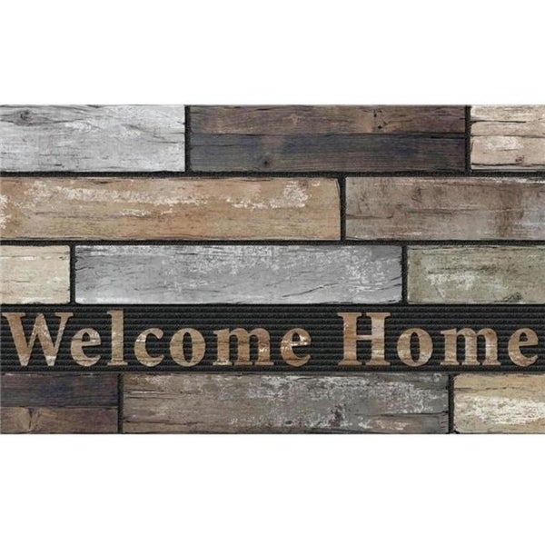 Apache Mills 60-730-5408-01800030 Masterpiece Mat Welcome Home Slats