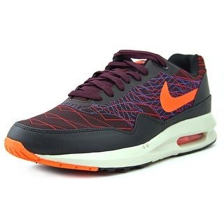 Nike Air Max Lunar1 JCRD Winter Men Round Toe Canvas Burgundy Tennis Shoe