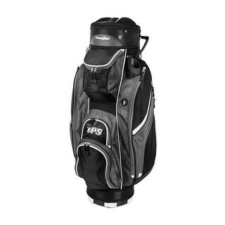 Powerbilt TPS 5400 Black/Charcoal Cart Golf Bag