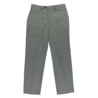 MICHAEL Michael Kors Mens Pindot Flat Front Dress Pants