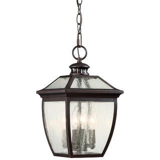 The Great Outdoors 72524-246 4 Light Outdoor Pendant from the Sunnybrook Collection