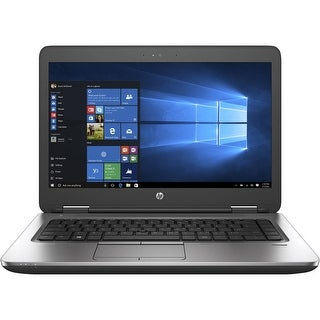 "HP Probook 640G2 14.0"" Laptop Intel Core i5 6300U 16G RAM 480G SSD DVD Windows 10 Home(Multi-language) Refurbished"
