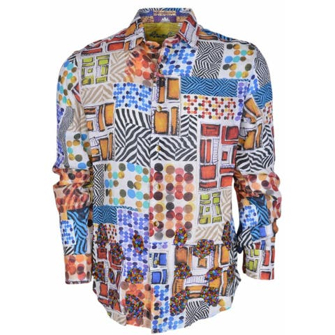 Robert Graham Classic Fit WILD DESERT Numbered Limited Edition Sport Shirt