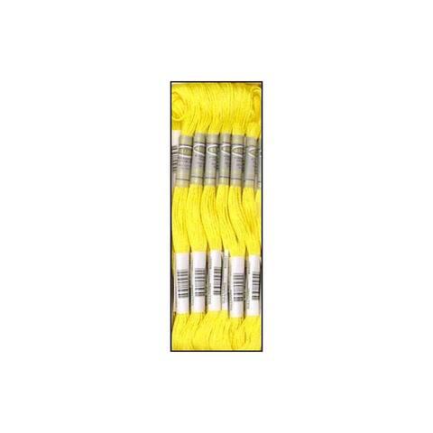45051 sullivans emb floss 8 7yd lemon